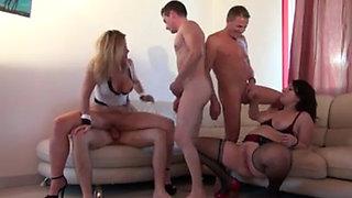Hot Amateur Slut Wives Anal DP Gangbang Double Penetration With Friend