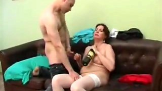 Germany Guy Fucked His Sexy Drunk Step Mom - ChoicedCamGirls