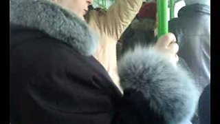 Flashing in the bus!