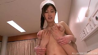 great sex with the busty asian nurse miki torii