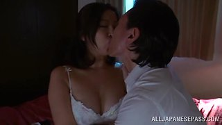 Cuckold Video of a Japanese MILF Making Her Man Watch Her Fuck