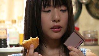 Horny Japanese chick in Best Lingerie, Toys JAV scene