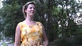 Pregnant girl is interviewed and fucked