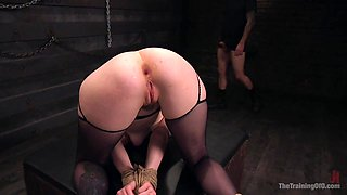 Blonde Slave Slut Training: Ela Darling Day 2 - TheTrainingofO